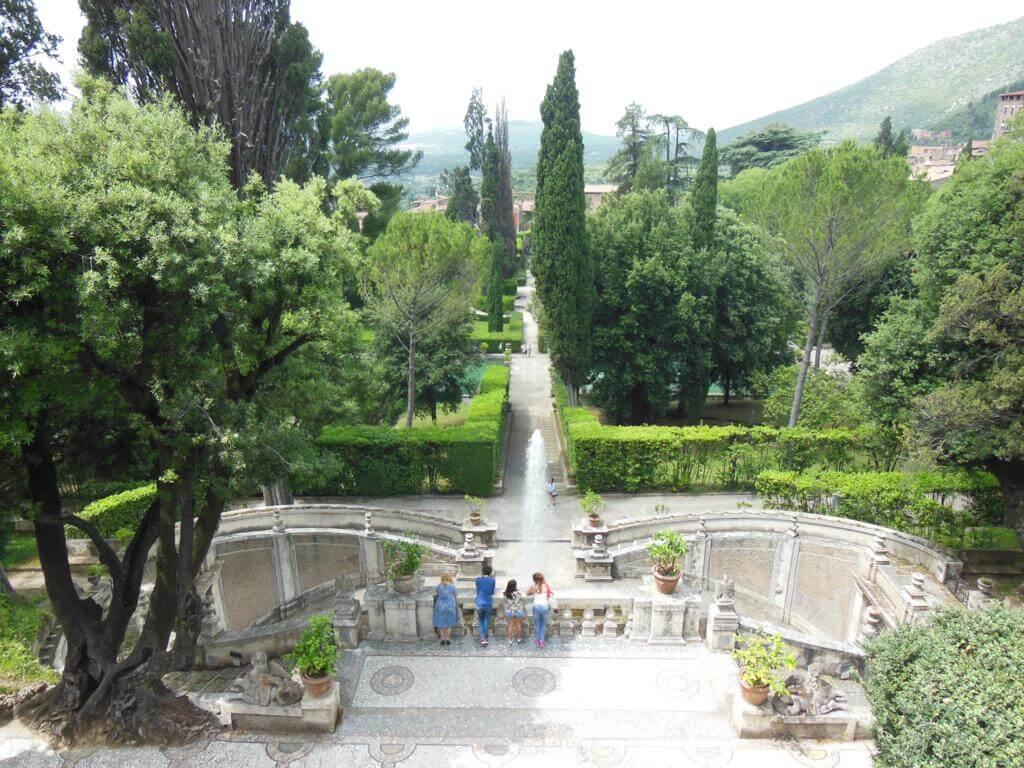 Jardines en Villa del Este