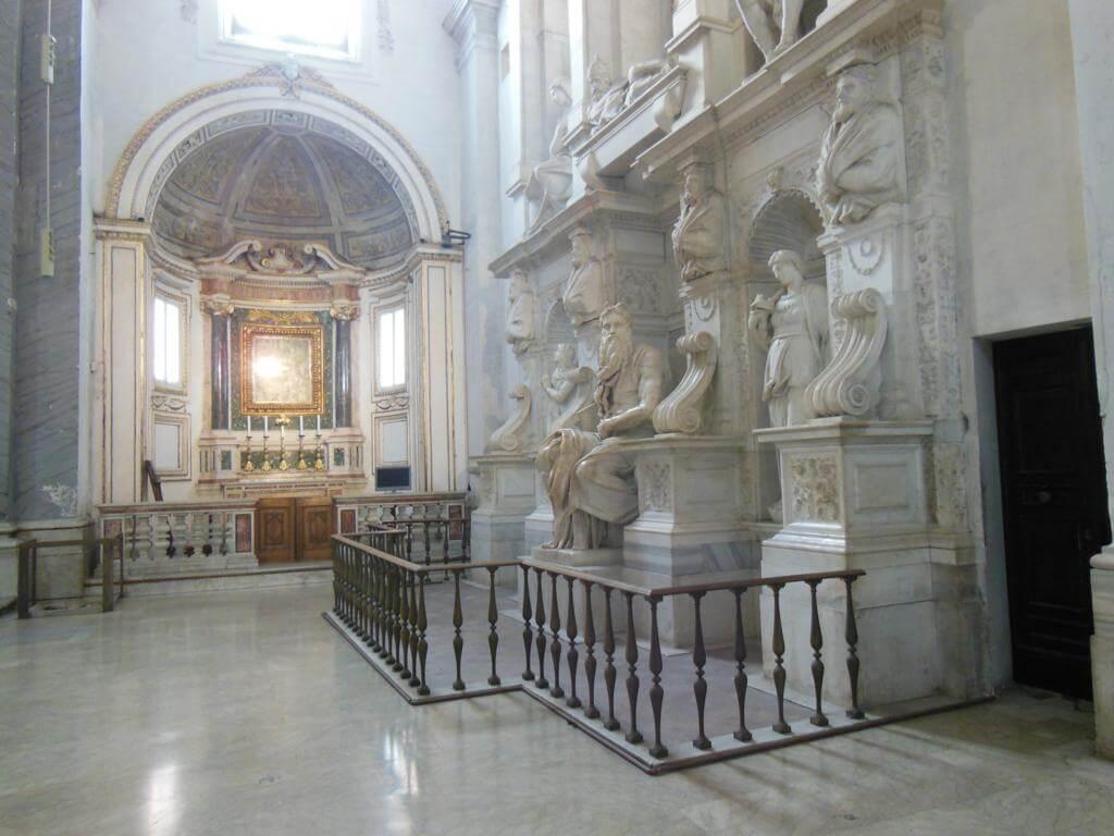 Moisés de Miguel Angel en la Basílica de San Pietro in Vincoli