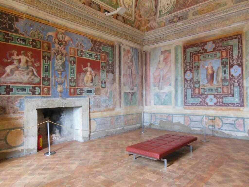 Pinturas en las salas
