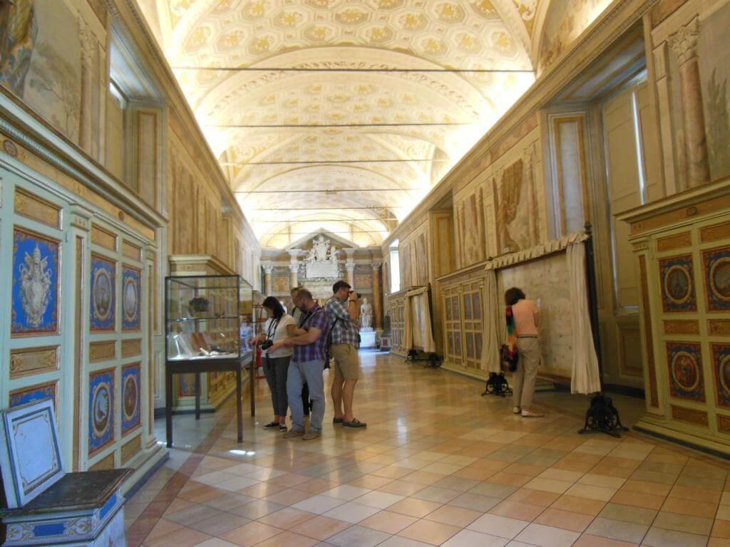 Salas en el Museo del Vaticano