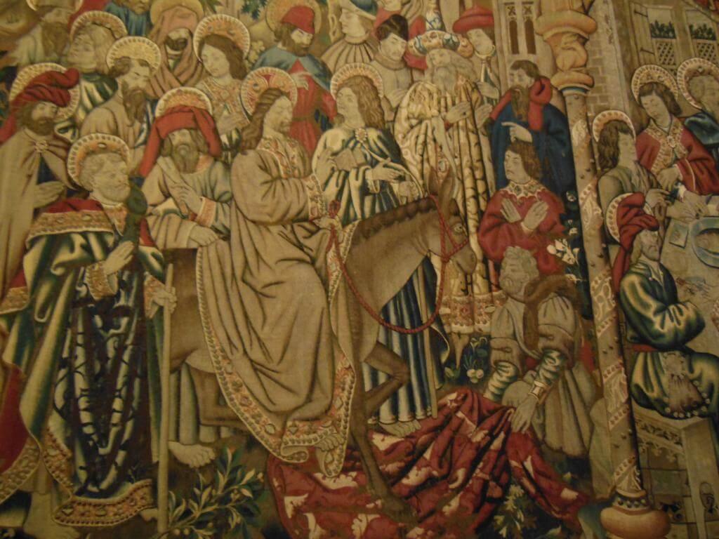Tapices en el Museo del Vaticano