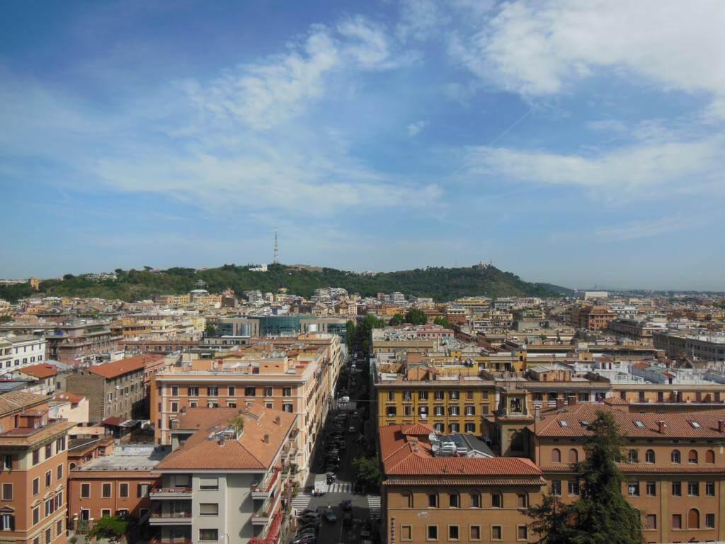Vistas en la visita al Vaticano