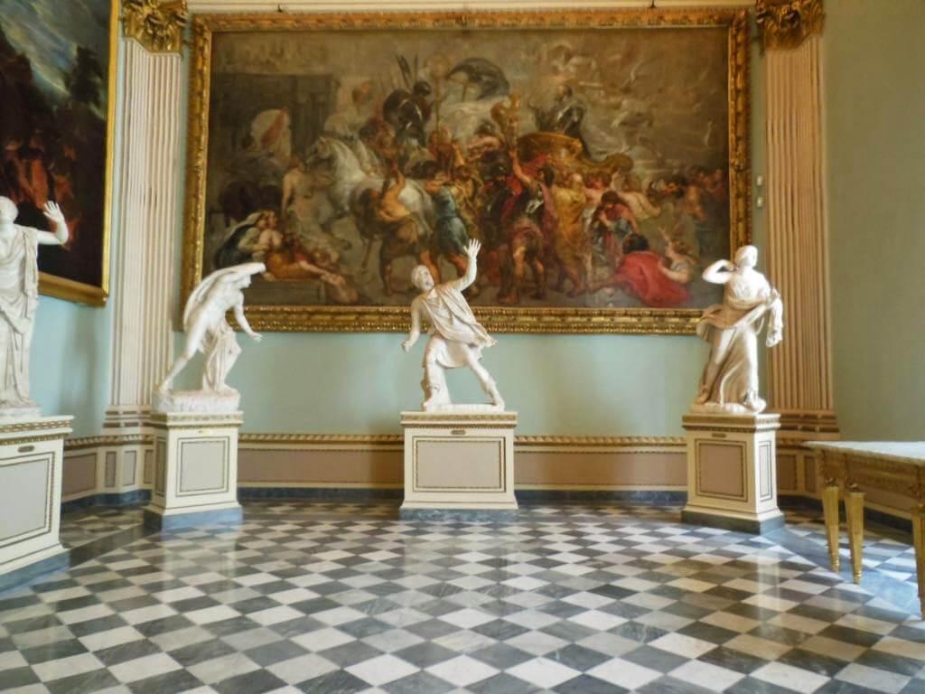 17000 metros cuadrados de Galería Uffizi de Florencia