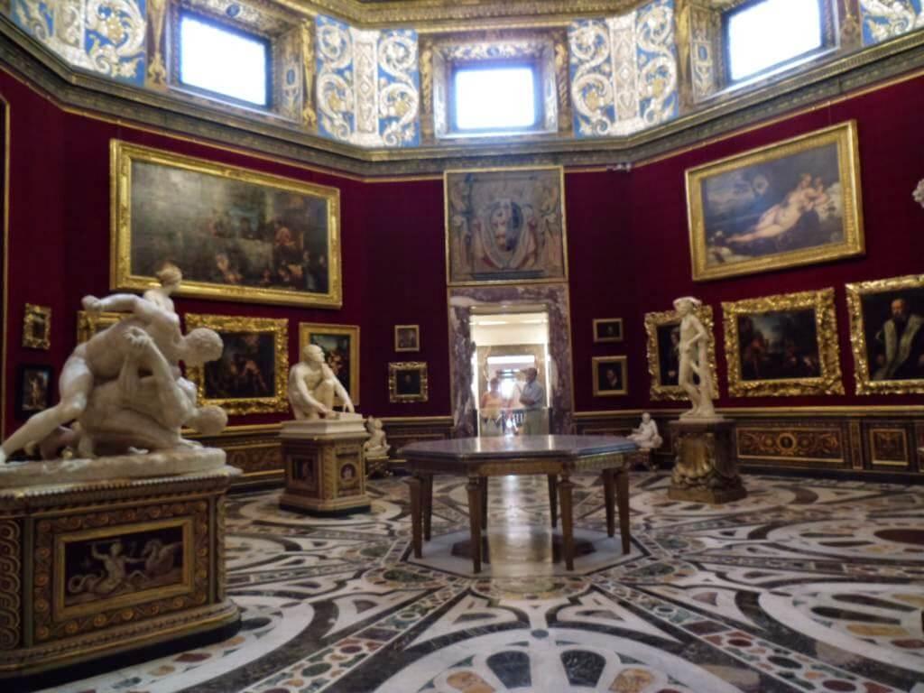 Sala 18: Tribuna de la Galería Uffizi de Florencia