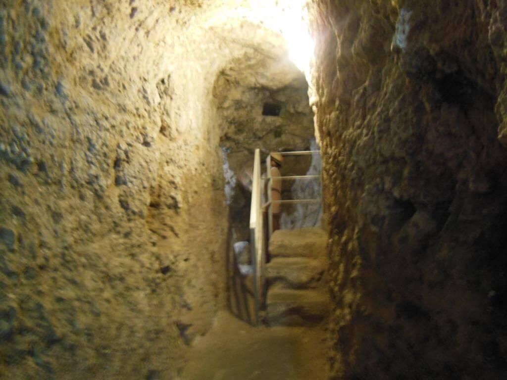 Subterráneos del castillo