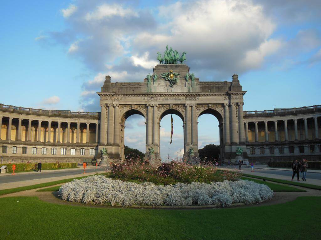 Parque del Cincuentenario: uno de los parques más bonitos de Bruselas