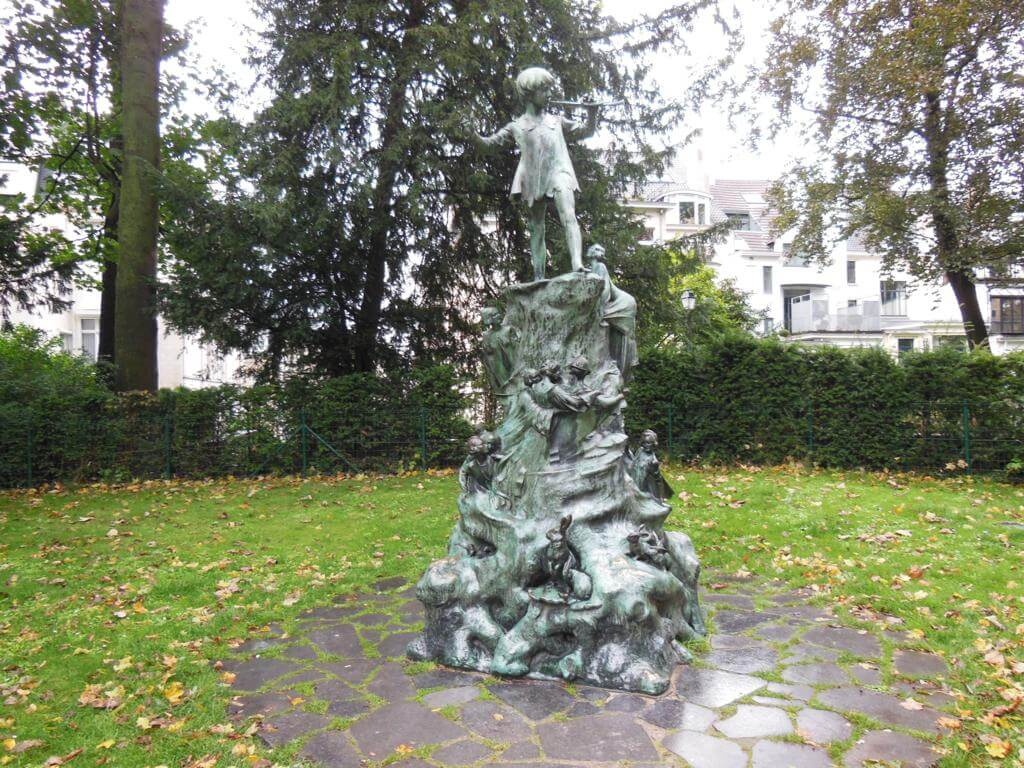Estatua de Peter Pan en Egmont Park