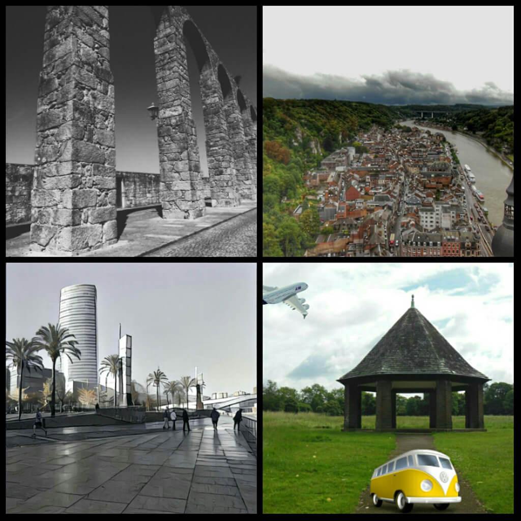 Collage realizado con Photo Grid