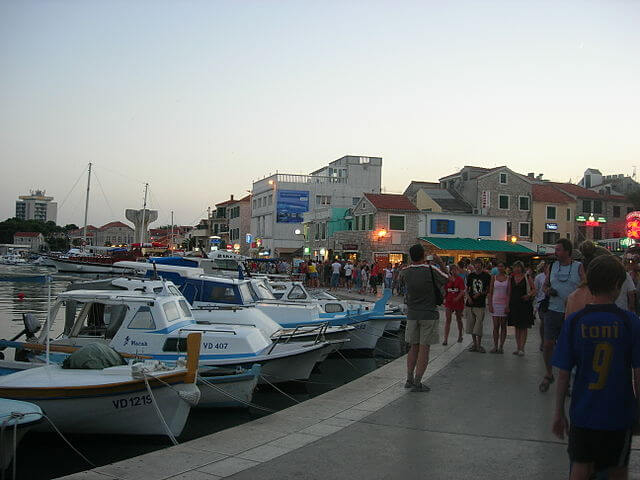 Puerto en Vodice
