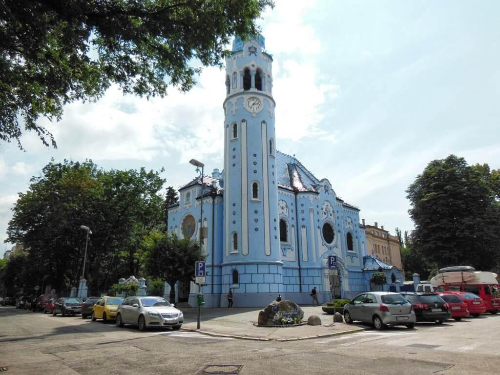 La iglesia eslovaca.