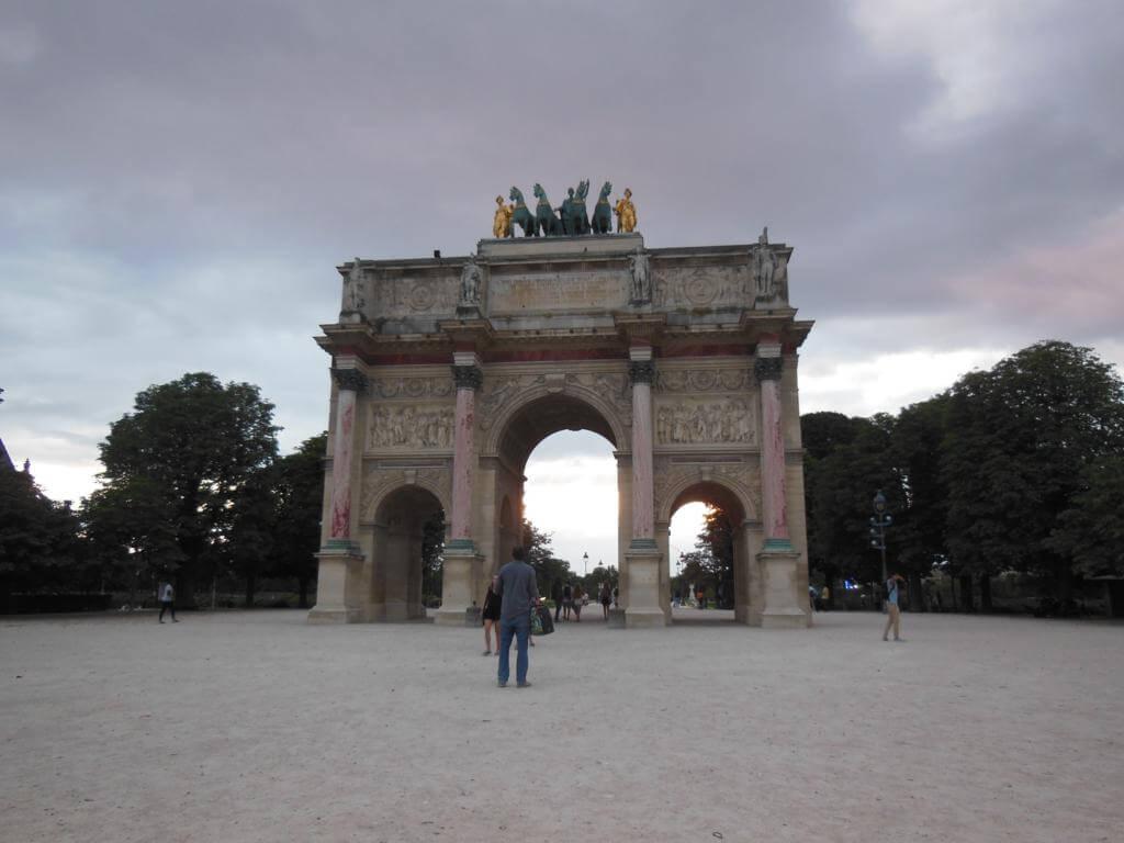 Arco de Triunfo del Carrusel (Arc de Triomphe du Carrousel)
