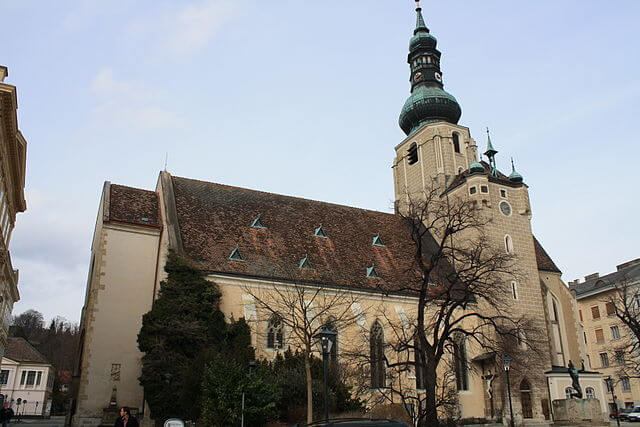 Iglesia de St Stephan en Baden (Austria) @Wikimedia