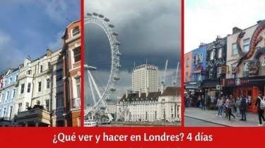 ¿Qué ver y hacer en Londres?
