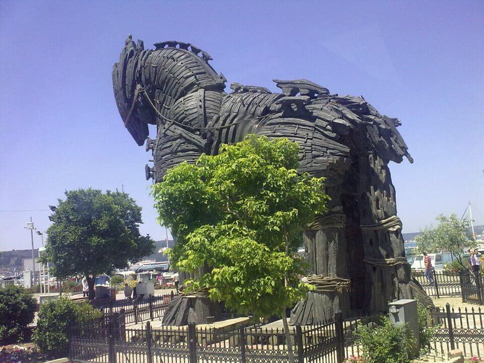 Caballo de Troya @Wikimedia