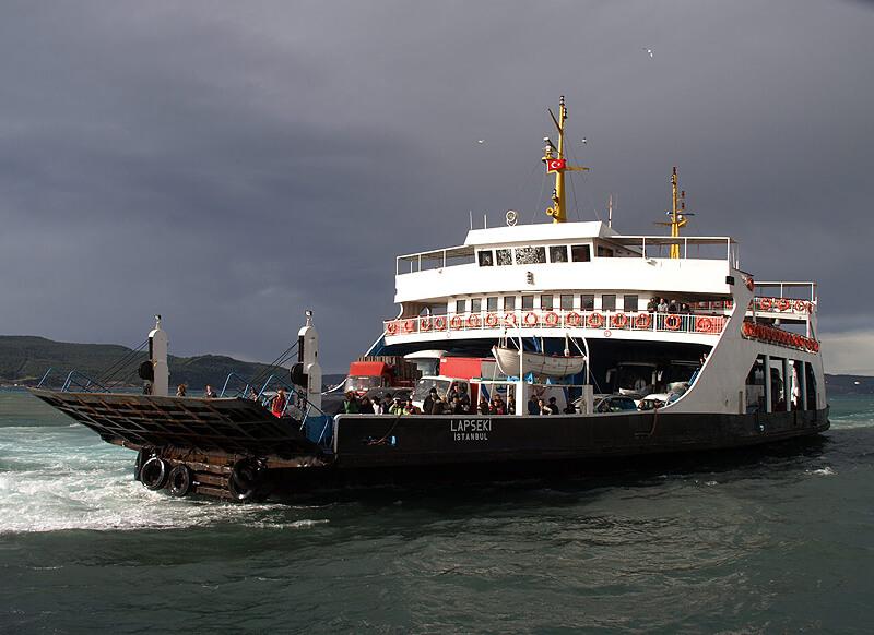 Ferry de Çanakkale (Turquía) @Wikimedia