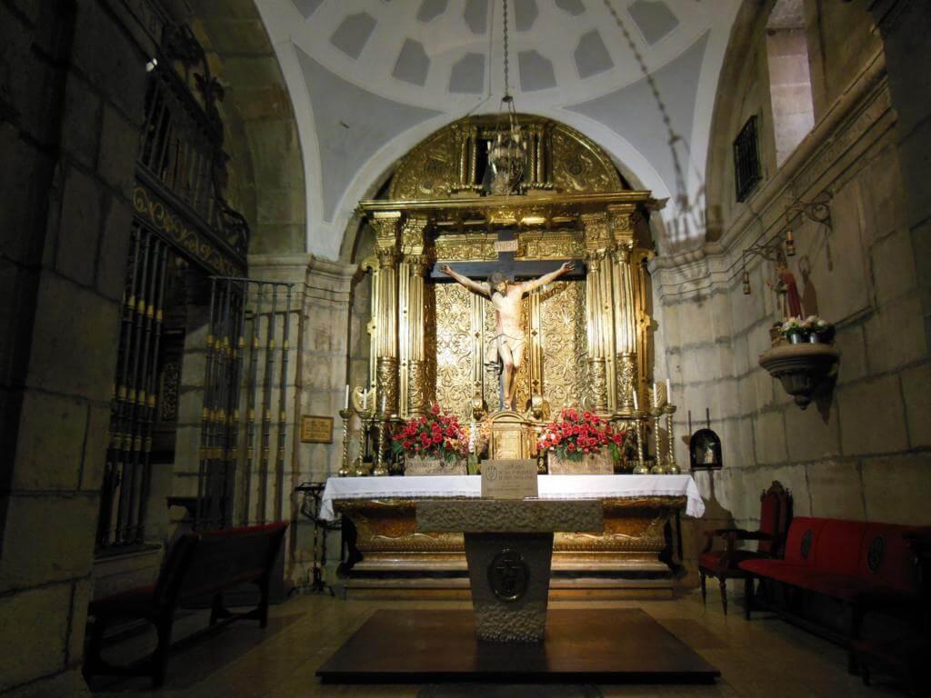 Interior de la Iglesia de San Marcelo