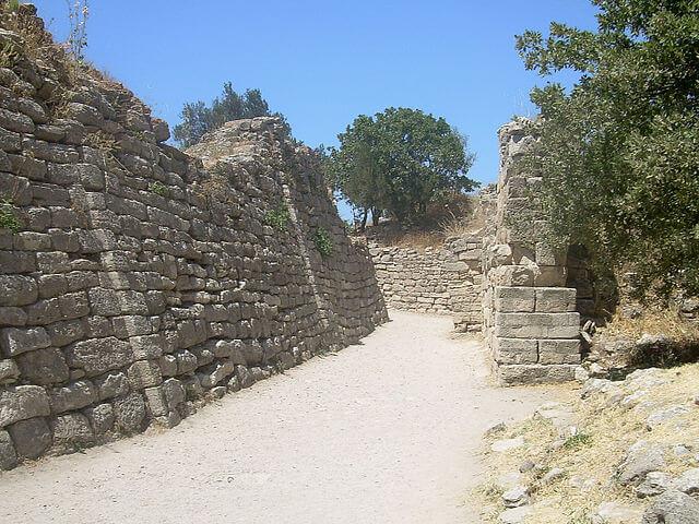 Murallas de las ruinas de Troya @Wikimedia