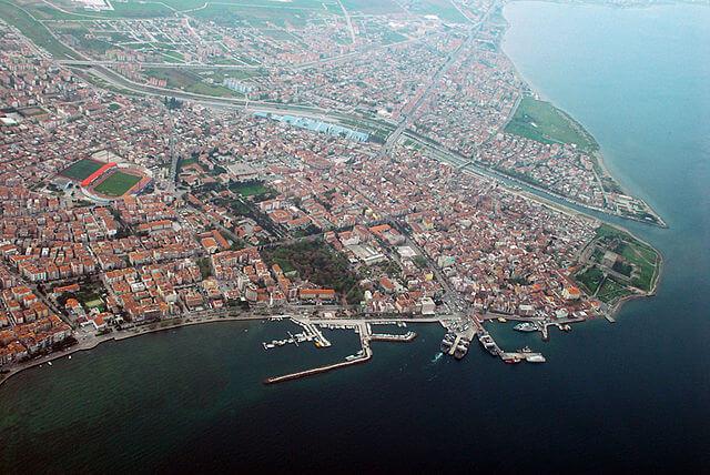 Panorámica de Çanakkale (Turquía) @Wikimedia