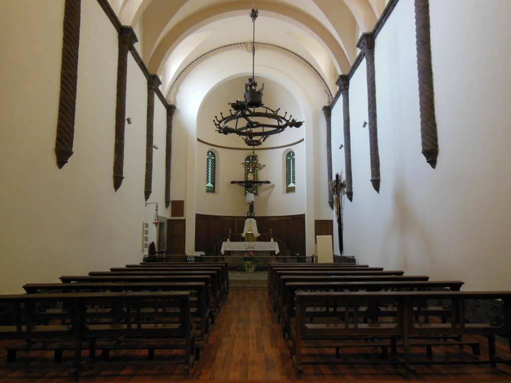 interior de la Basílica de Sant Feliu