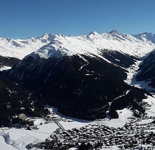 Qué ver y hacer en Davos (Suiza) @Wikimedia