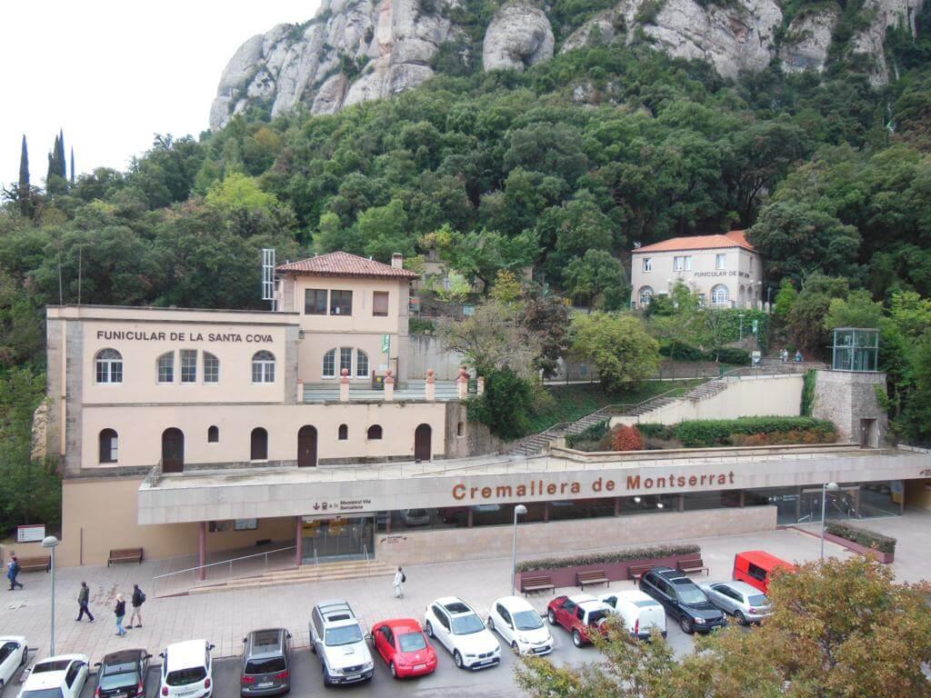 Estación de tren de Montserrat
