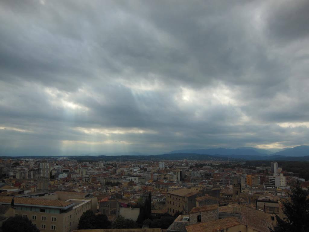 Vistas desde las Murallas de Girona