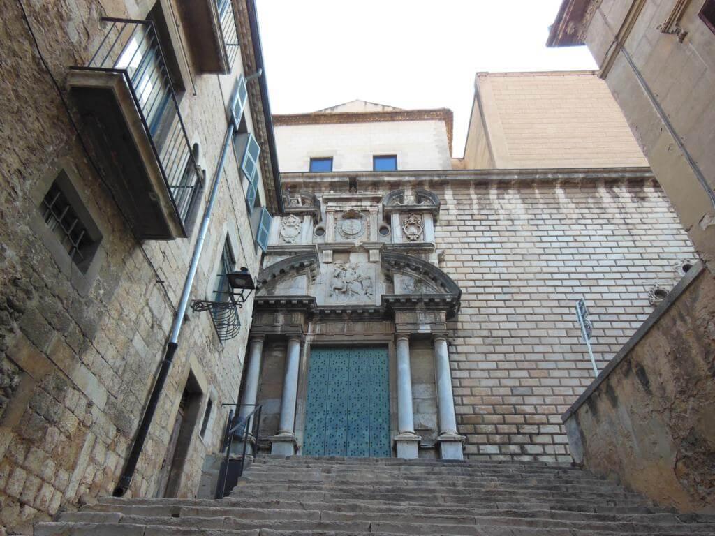 Iglesia de Sant Martí Sacosta en Girona