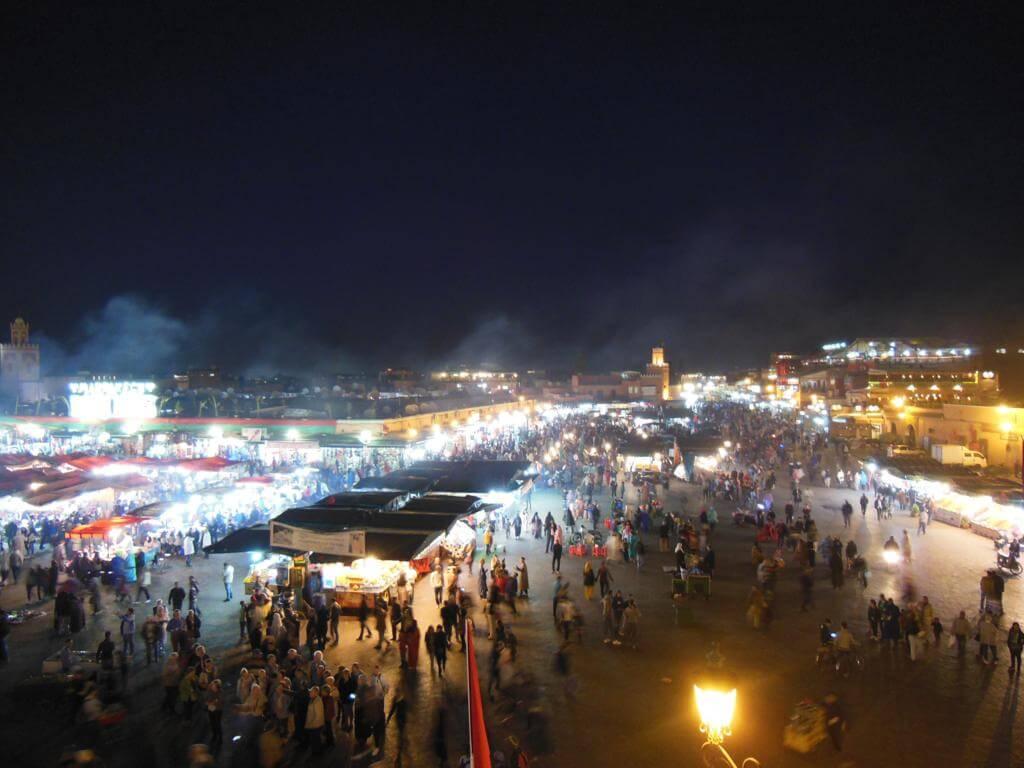 ¿Qué ver en Marrakech en tres días? Plaza de Jemma el-Fna