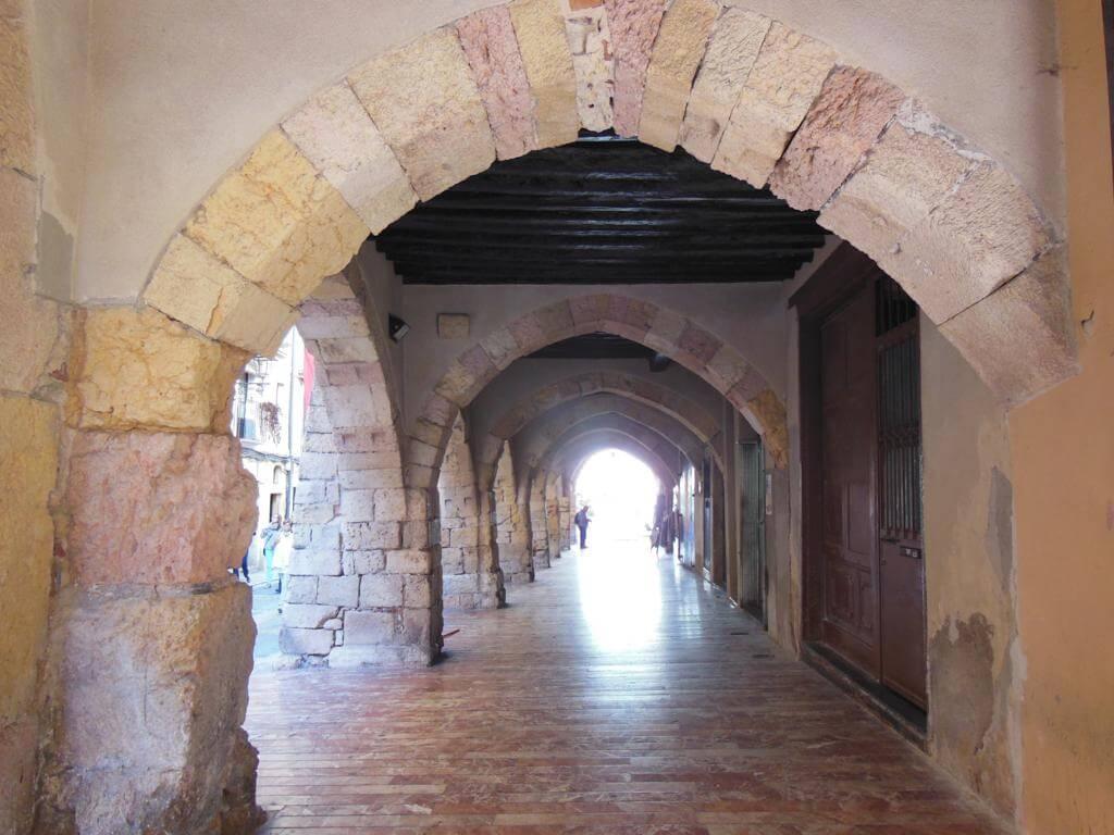 Soportales de la ciudad de Tarragona