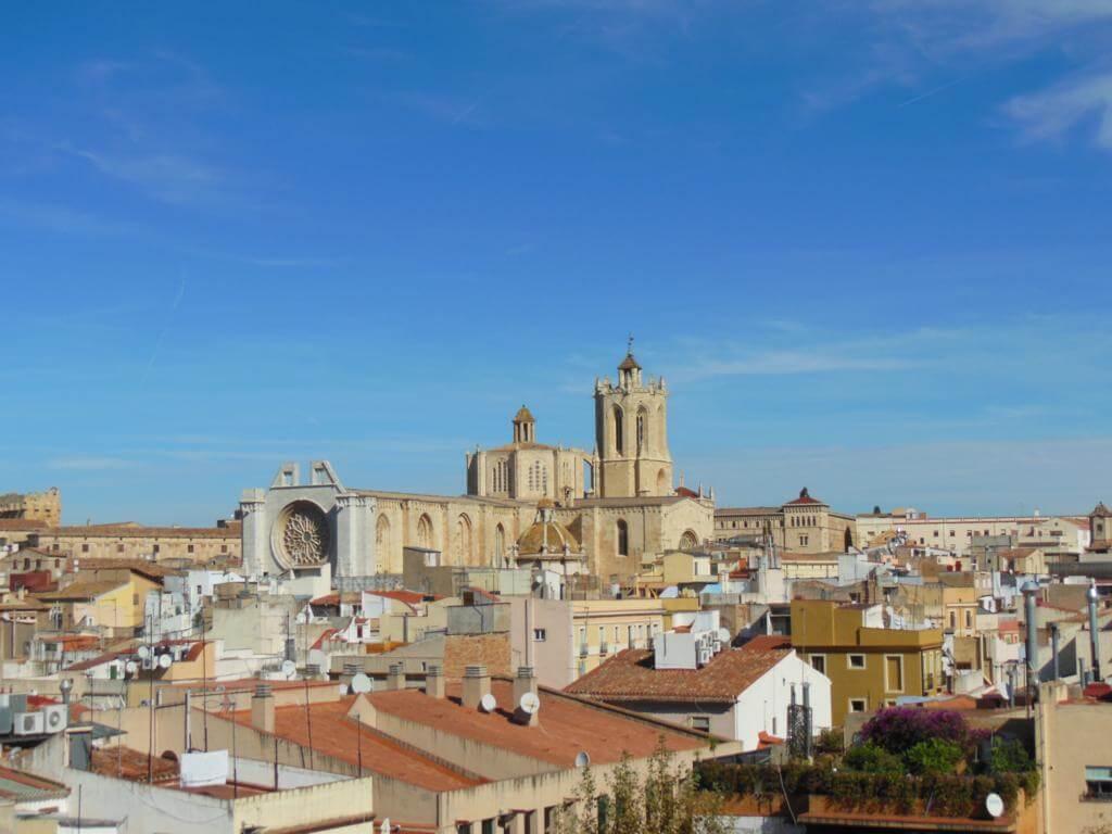 Vistas desde el Pretorio romano de Tarragona