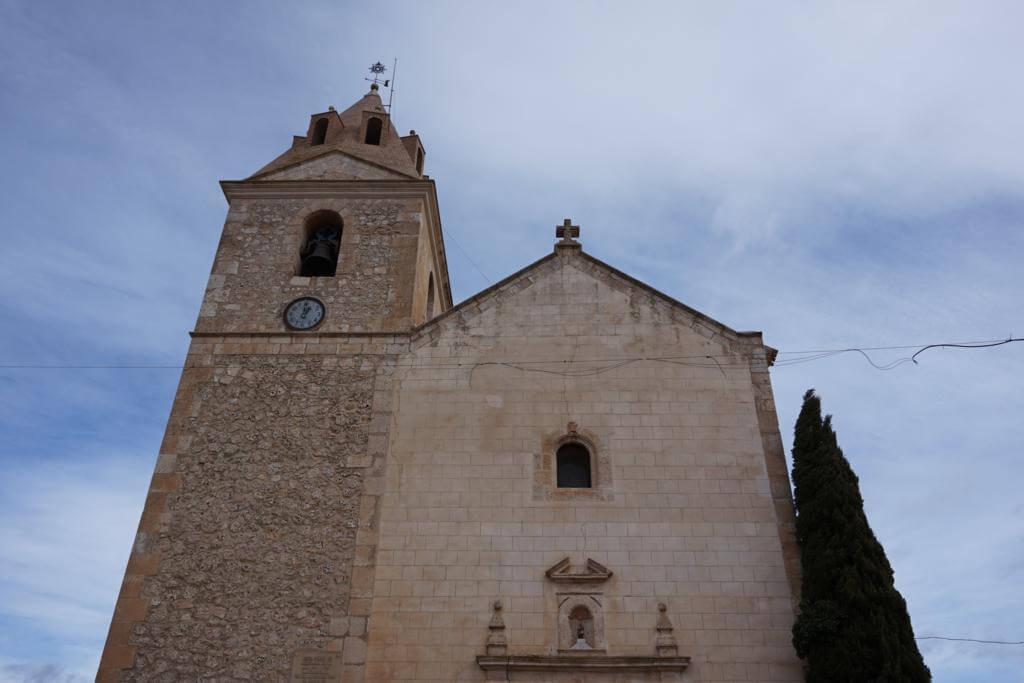 Iglesia de San Miguel Arcángel en Abengibre