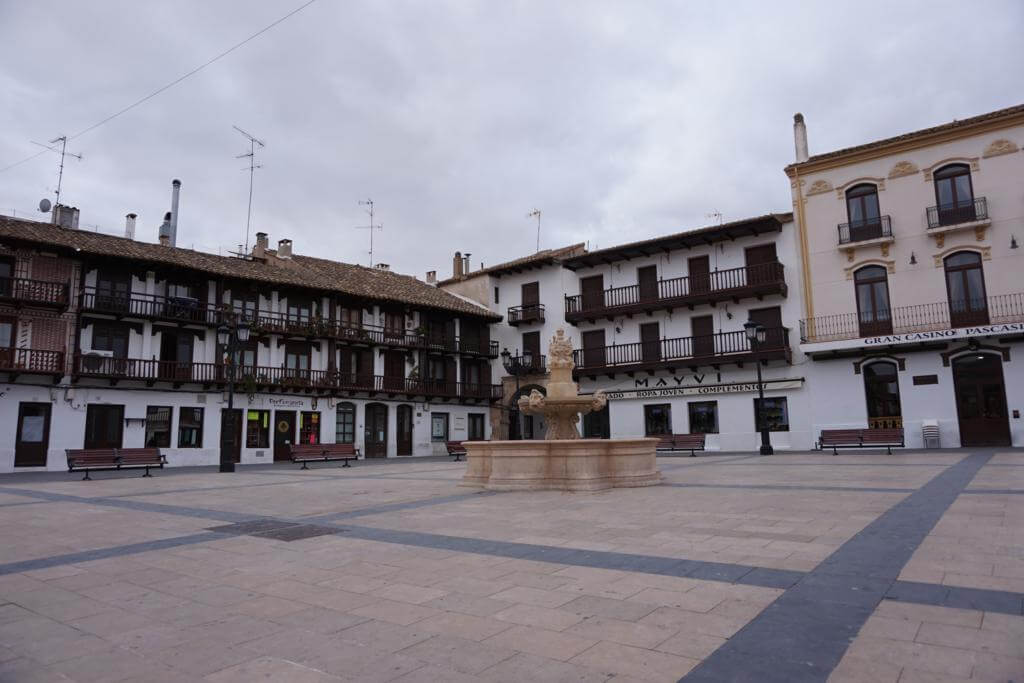 Plaza Mayor de Tarazona de la Mancha