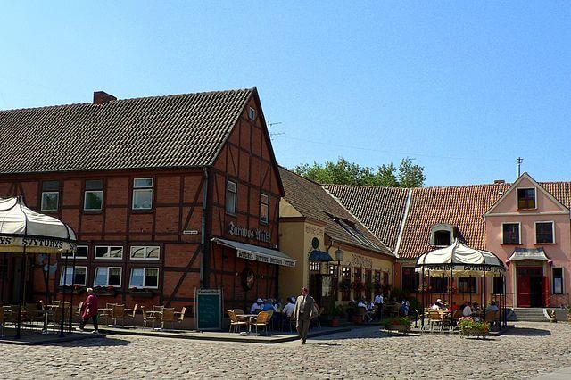Ciudad vieja de Klaipeda @Wikimedia