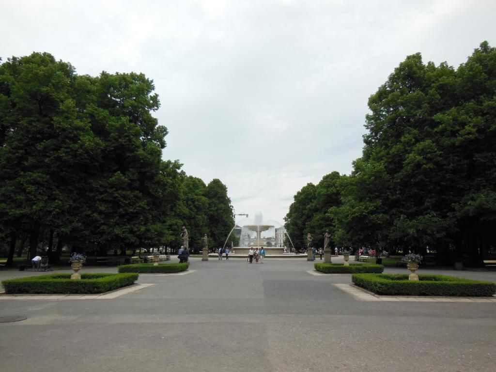 Que ver y hacer en Varsovia: Jardines Sajones de Varsovia