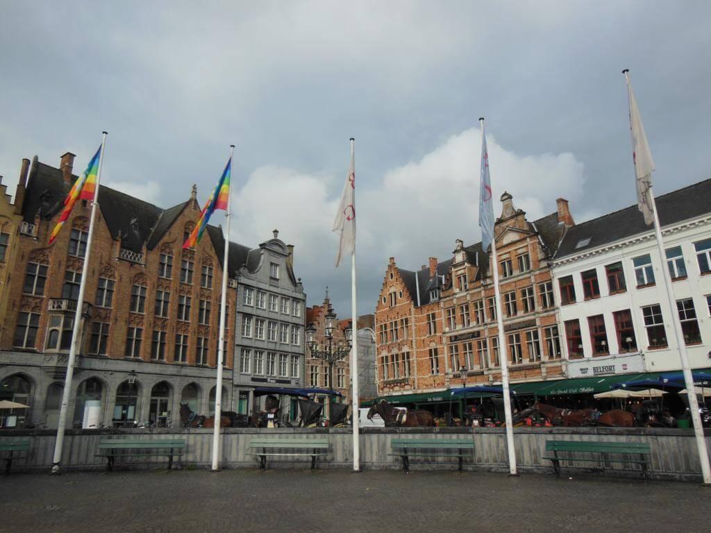 Plaza Mayor de Brujas (MarktPlatz)