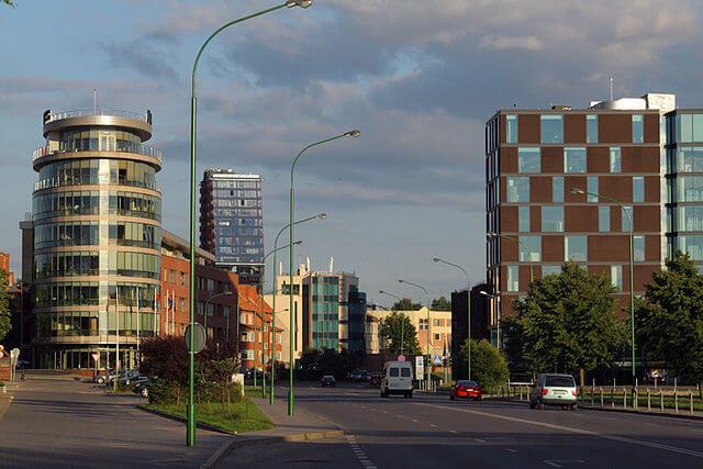 Qué ver y hacer en Klaipeda. Zona moderna @Wikimedia