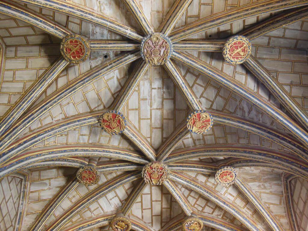 Bóveda de la Catedral de Cuenca