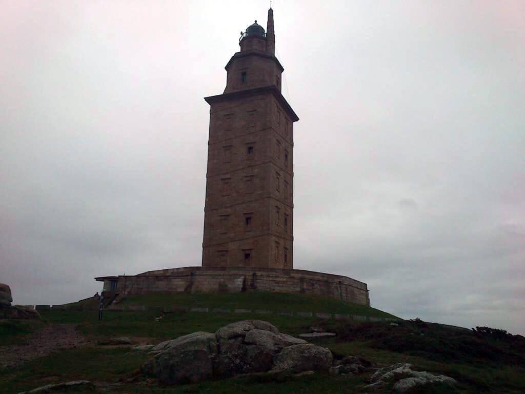 Torre de Hércules en La Coruña, de las provincias más bonitas de España