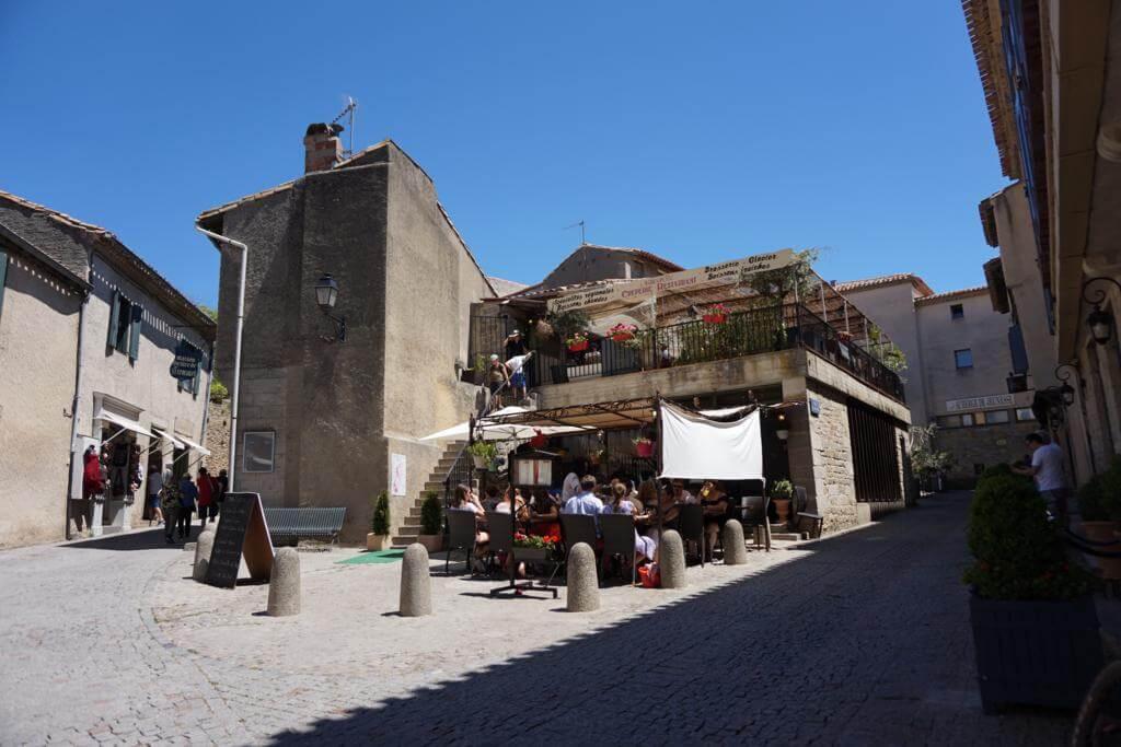 Calles de la Ciudad Medieval de Carcassonne
