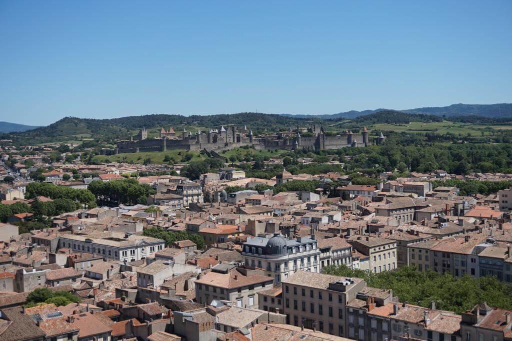 Carcassonne desde la Iglesia de San Vicente