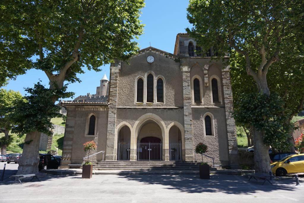 ¿Qué ver en Carcassonne en un día? Iglesia de Saint Gimer