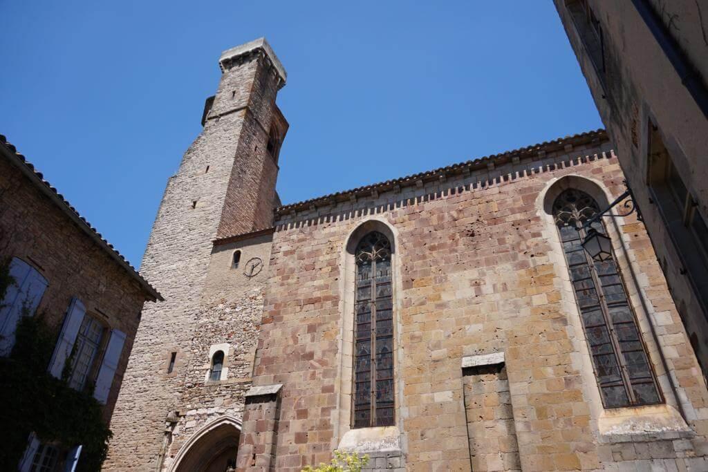 Iglesia Saint-Michel en Cordes-sur-Ciel