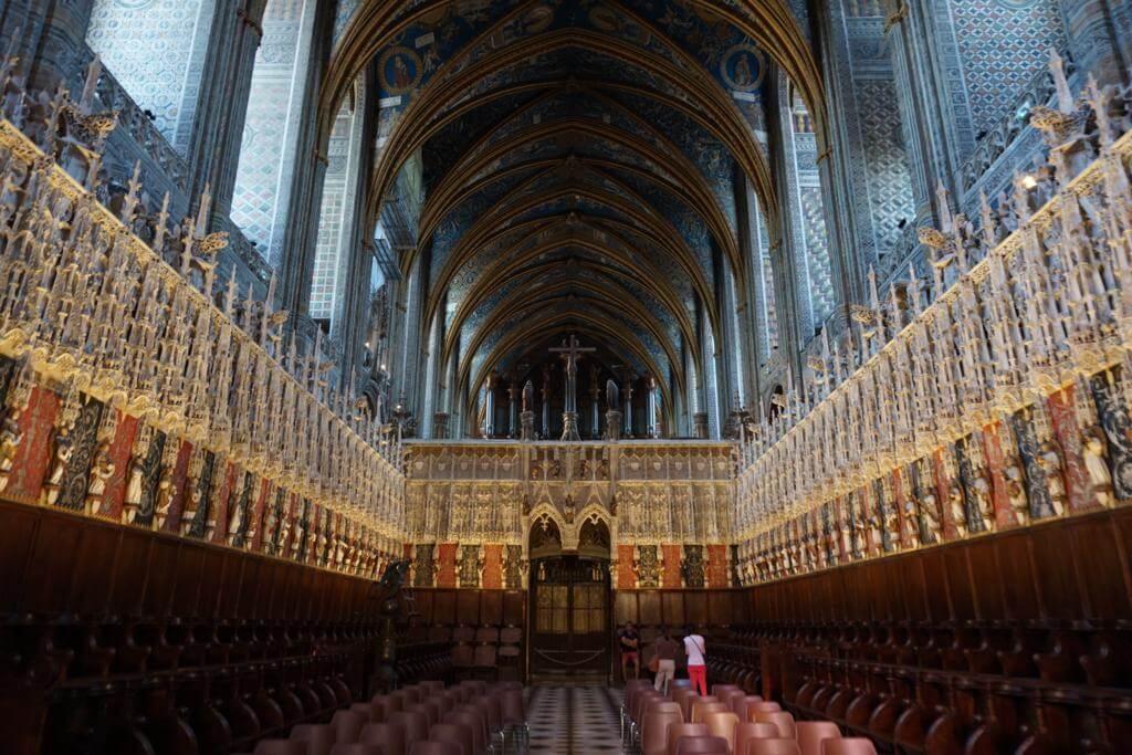 Interior de la Catedral de Santa Cecilia de Albi