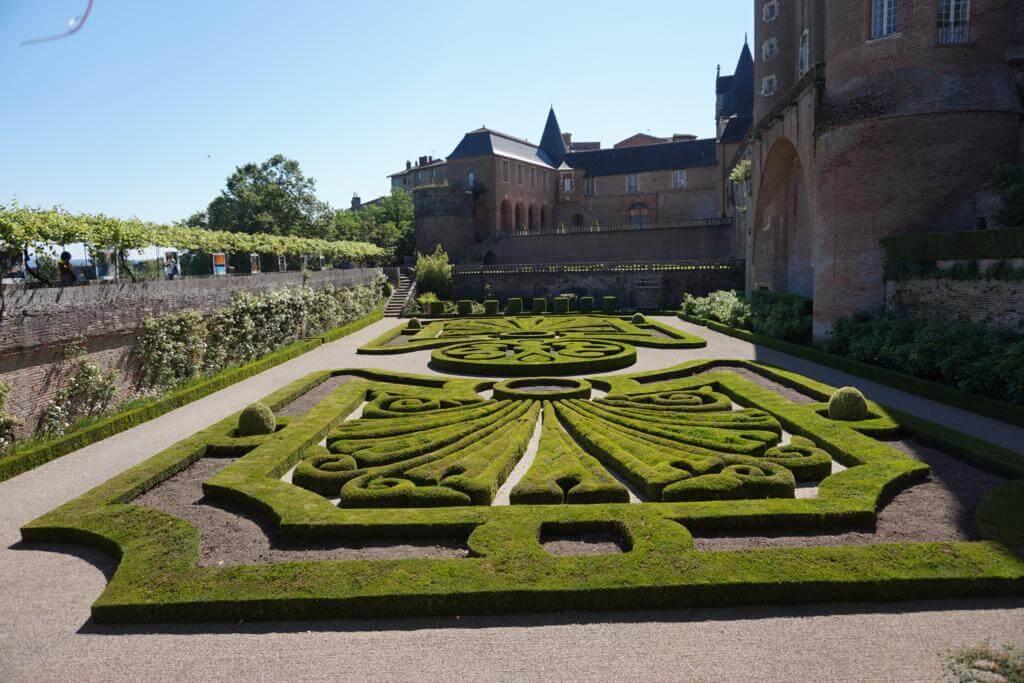 Jardines del Palacio de la Berbie
