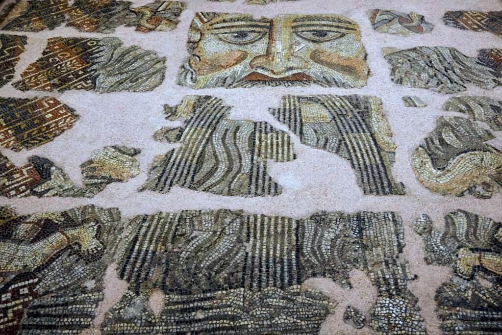 Mosaico en el Museo Saint-Raymond