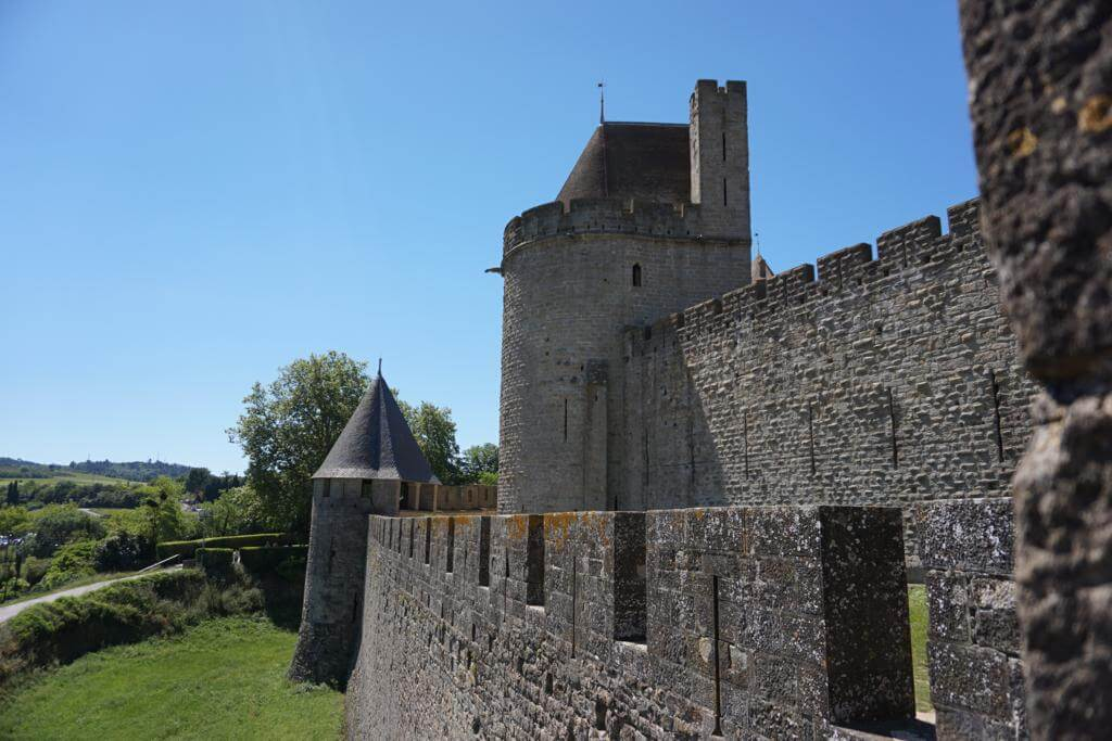 ¿Qué ver en Carcassonne en un día? Las Murallas