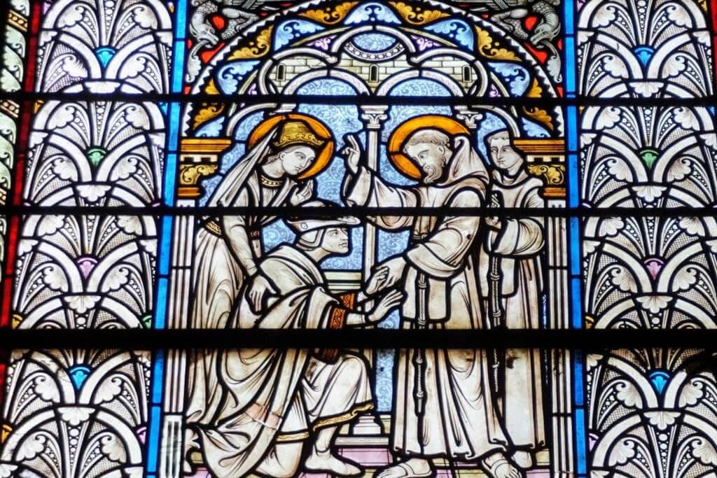 Vidrieras de la Basílica de San Sernín