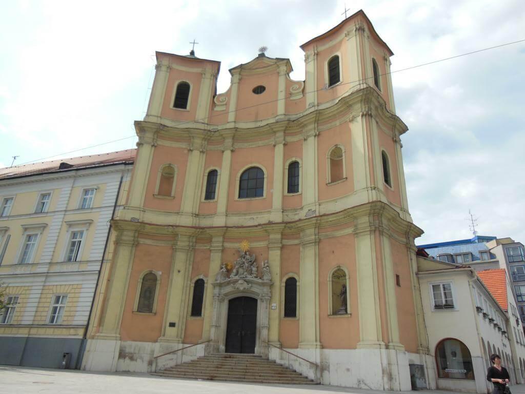 La Iglesia Trinitaria de Bratislava