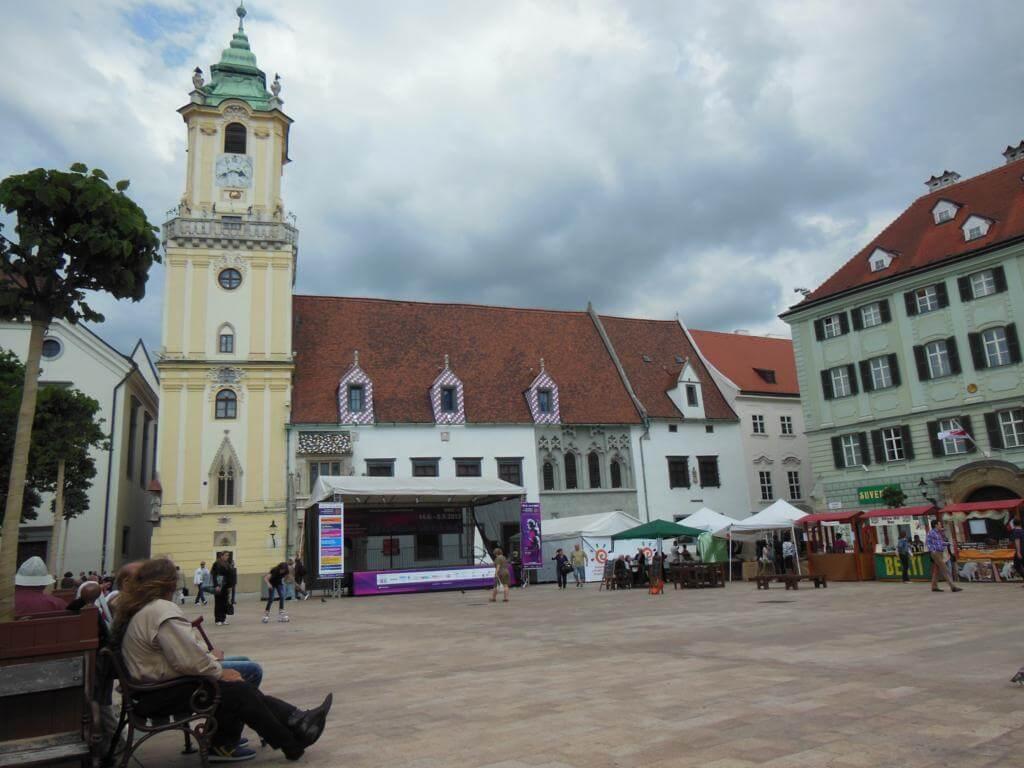 Plaza de Hlavne Namestie