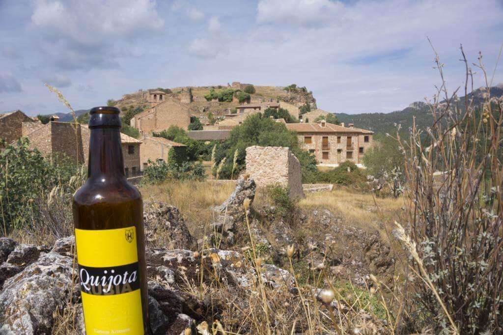 Cerveza Quijota en Riópar Viejo